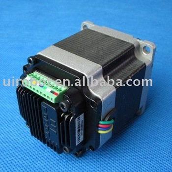 Nema23 integrated stepper motor with motion controller for Stepper motor integrated controller