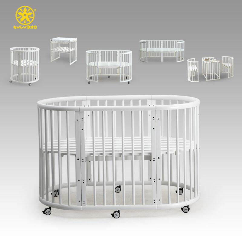 Modern Style Wood Kids Cot Models in Cots