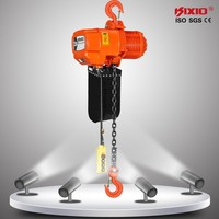 2.5 ton chain hoist with carriage motor crane