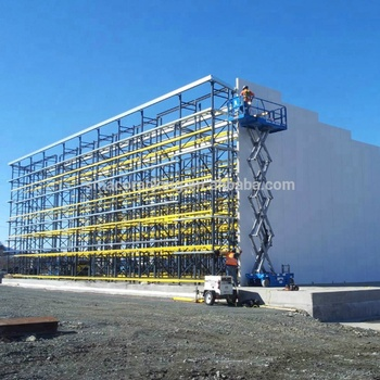Steel Structural Engineering Outdoor Warehouse ASRS Automated Storage and Retrieval Systems