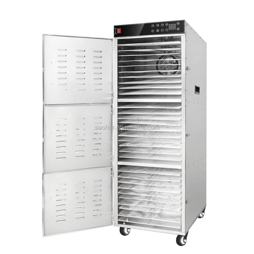 30 trays Stainless Steel Commercial Food Dehydrator Dehydrator Beef Jerky