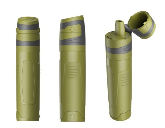 Travelling Camping Hiking UF water filter for outdoor drinking