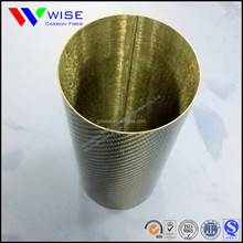 High Strength Large Diameter Rolling 3k Glossy Carbon Fiber Tube with Factory Price