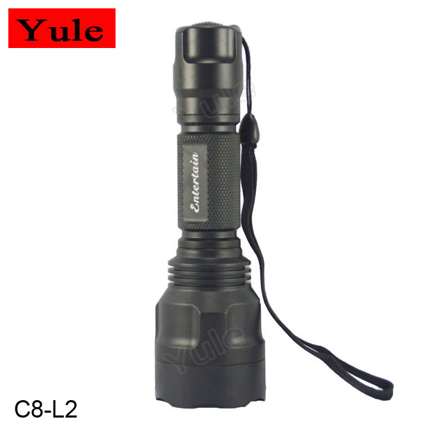 Entertain C8 XM-L2 <strong>U2</strong> 10*7135 5 Modes <strong>LED</strong> Flashlight, High Power Flashlight, <strong>LED</strong> Torch