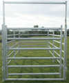 Heavy duty livestock farm yard cattle metal panel