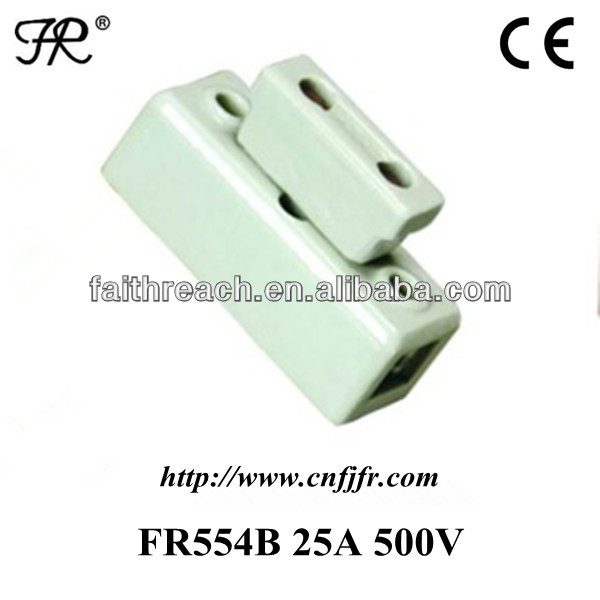 Hot sale porcelain fuse unit 25A 500V