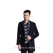 Autumn and winter new business wool mens coat