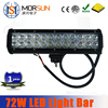 Morsun 72W led light bar, 72W led curve light bars,36w 72w 120w 180w240W 300W led light bar Epistar auto led light