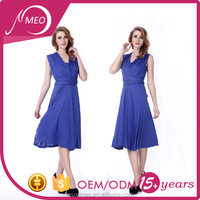New products exported casual long dresses plus size