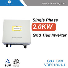 Best price 2kw ac drive frequency converter connect to solar pv modules for grid solar system without battery