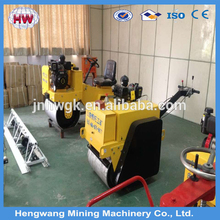 whatsapp +8613508973211 Small Double Handheld Pavement Vibrating Road Roller
