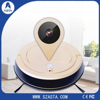 The best robot vacuums of 2017with APP WIFI Remote Control vacuum cleaner Double brush With HD Camera For cleaning and prot