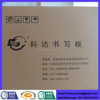 Dry wipe glass white board prices with latest design