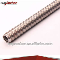 SupAnchor construction high quality SDA hollow drilling rock anchor mine roof bolt & reinforcing steel bars