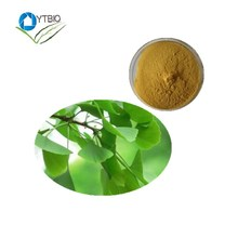 Natural Herbal Medicine Flavone Glycoside 24% Ginkgo Biloba Leaf Extract