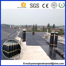 SBS pvc waterproof roofing membrane / self adhesive waterproof membrane