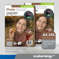 High quality 260g RC Glossy coated photo paper