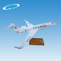 Hebei Airlines GULFSTREAM G450 scale 1/100 30cm model aero for business gift