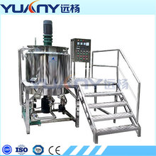 Industrial high shear mixer homogenizer
