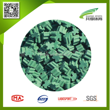 factory supplied football artificial grass recycled rubber granules best prices for artificial turf