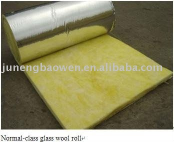 Fiberglass Heat Insulation Duct Wrap / Glass wool Roll