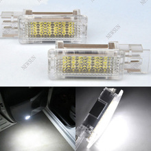 Xenon HID White 18 LED 3528 SMD Courtesy Door Lights Lamps Bulbs for Mercedes Benz W203 4D 5D W207 W209 R171 R199 W240 W639