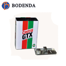 Square Tin Box for Wine packaging /Alcohol Tins box