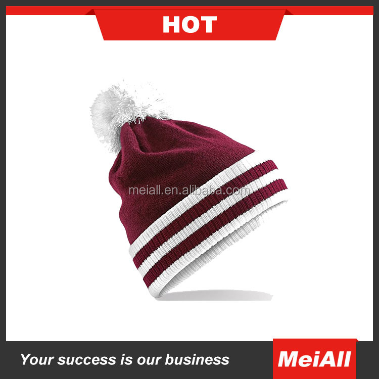 high quality winter unisex custom knitted winter cap