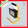 2015 new design high quality aluminum 20W led rechargeable flood light