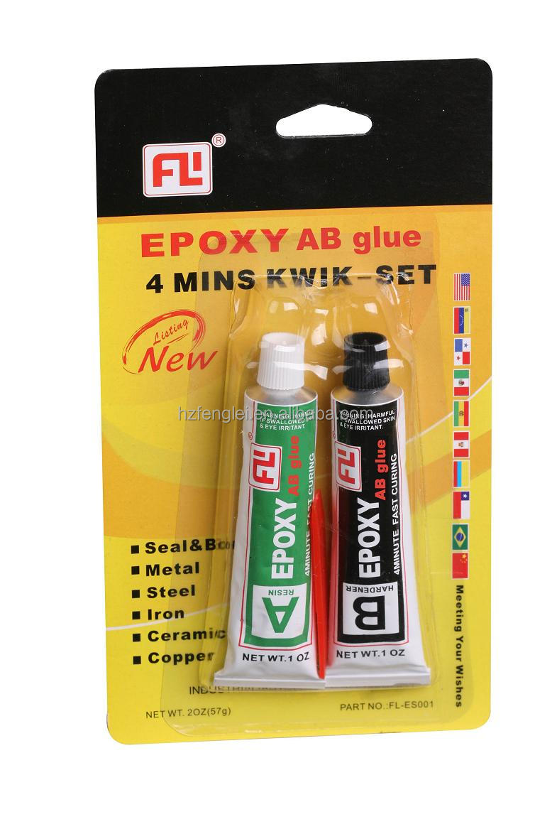 Two component glue, stone glue epoxy adhesive, adhesive for sheet metal