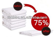 Space Saving Vacuum Seal Plastic Bags Storing Bedding and Clothing