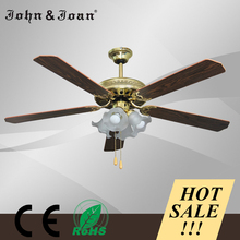 Hot Sale Classic Energy Saving Outdoor Ceiling Fan With Light