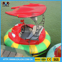 Hot selling water park rides inflatable adult bumper boat, water bumper boat with timer