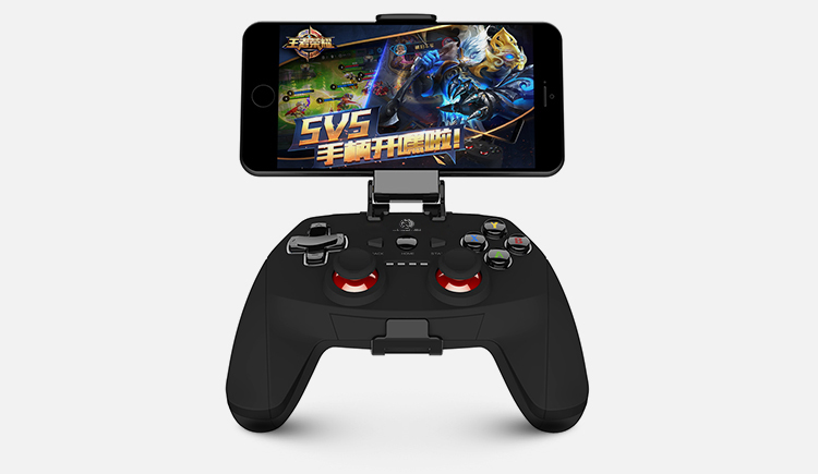 Free shipping hot selling GamePad joystick Bluetooth Wireless game controller for android mobile phone / Tablets / PC / TV
