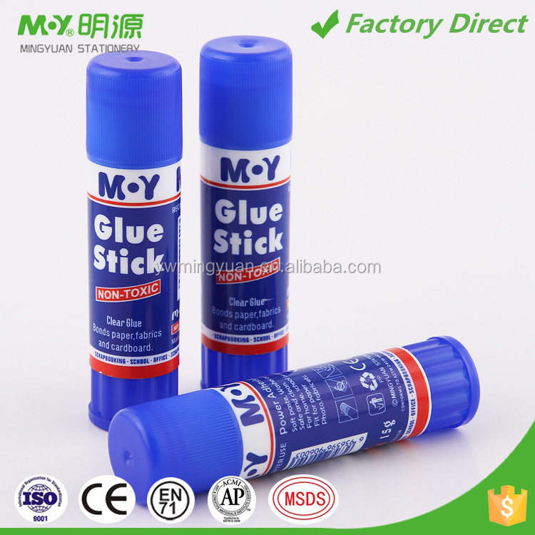 Non toxic washable power adhesive solvent free safe glue stick manufacture