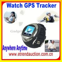 Best Selling Quad Band Watch Phone GPS Tracker PG88 Wrist Geo-fence Watch Phone GPS And SOS function