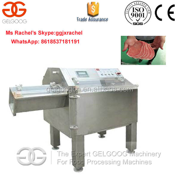 China New Design Heavy Duty Frozen Meat Slicer Machine