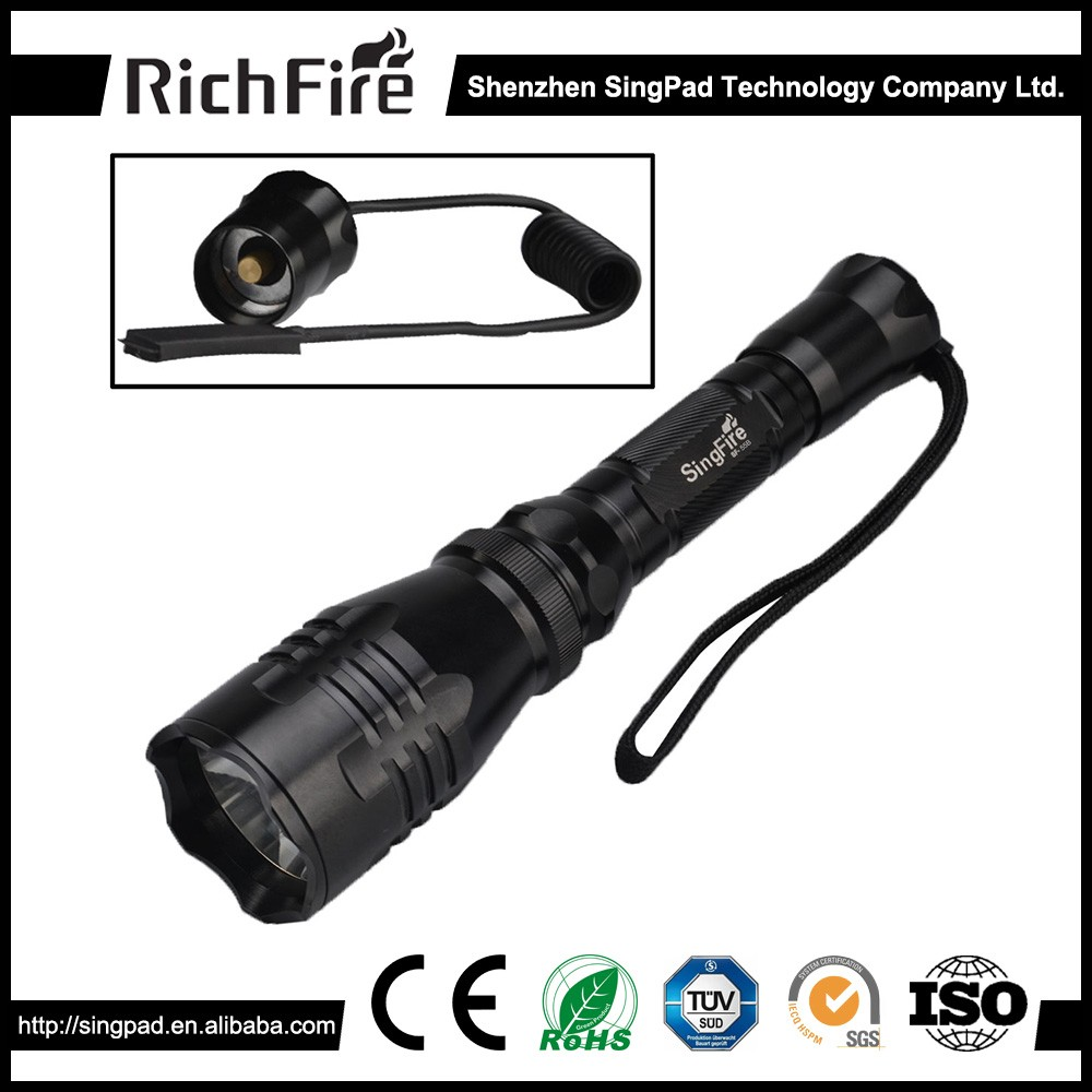 riflescopes hunting flashlight,remote switch led hunting flashlight,1200 lumens hunting flashlighting