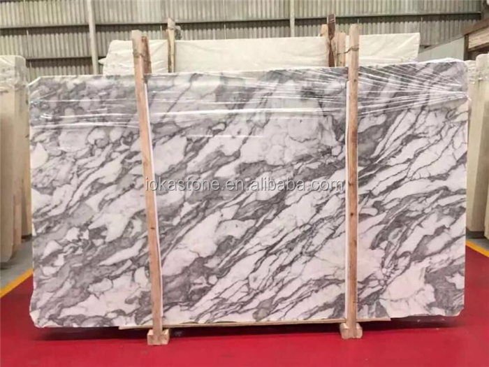 Wholesales white arabescato marble tile and slab