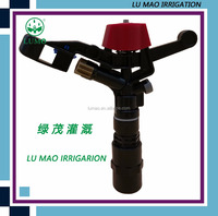 "3/4"" plastic 360 rotating impulse water sprinkler for agricuitural or garden or lawn irrigation"