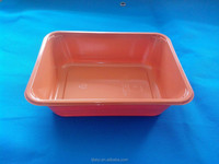 High Temperature Resistant CPET plastic food tray airline catering container and box TY-0040