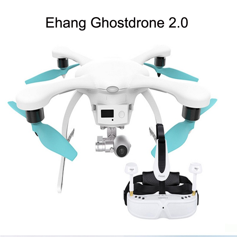 Original Ehang Professional Camera Drone with 3D 4K Camera+<strong>G</strong>-box+VR Goggles by salange Wholesale Camera Quadcopter