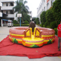 Wholesale Inflatable Farm Bull Riding Bull Rodeo Mechanical Bull Machine China Suppliers and Manufacturers
