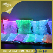 2015 LED light up sublimation custom decorative pillow case