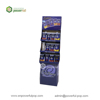 supermarket promotional dairy milk chocolate corrugated cardboard floor shelves display racks