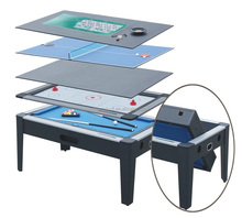 5 in 1 rotating game table