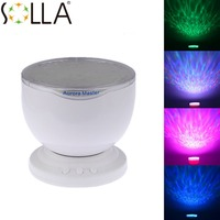2016 Amazing Colorful 4 Kinds of Aurora Sky Romatic Gift Cosmos Sky Master Projector LED Starry Night Light Lamp
