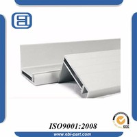 ISO Approved Cut to Length Kitchen Cabinet Aluminum Profile