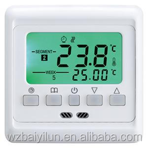 Programmable electric room thermostat with ntc temperature sensor inner
