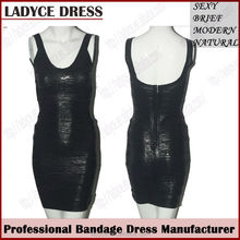 High quality black foil printed bandage dresses boutique dresses lahore